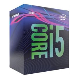 IN CPU i5-9500 BX80684I59500, 6 Cores, 3.00 GHz, Max Turbo: 4.40 GHz, TDP: 65W, Max Memory Channel: 2, No fan speed.