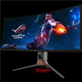 "Monitor 34.14"" ASUS PG349Q, Curved 1900R, Gaming, IPS, UW-QHD 3440*1440, non-glare, 21:9, WLED, 4 ms, 300 cd/m2, 178/178, 1000:1"