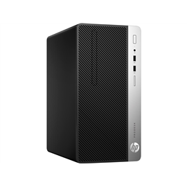 Desktop HP ProDesk 400 G5 Microtower, Intel Core i5-8500 6 Core (3.00GHz, up to 4.1GHz, 9MB), video integrat Intel UHD Graphics,