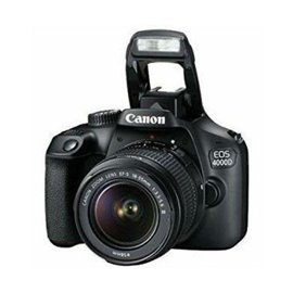 """Camera foto Canon kit EOS-4000D + EF-S 18-55mm DCIII, 18.7MP,2.7"""" TFT fixed DIGIC 4+, 3 cadre / sec, ISO 100-6400,FullHD movies"""