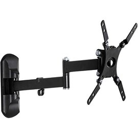 """Articulating wall mount Philips for up to 42"""" - universal Supports weights of up to 25kg (55lbs) Supports curved screen TV and"""