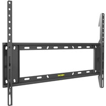 "Flat/ Curved TV Fixed Wall Mount 32""-90"", E400+.B, Distance from the wall: 1.1""/2.7 cm, Fits TVs with VESA (Bracket Mounting Hol"