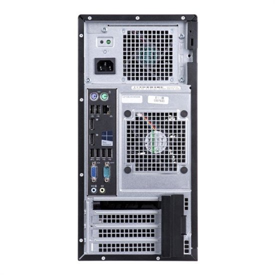 Desktop Dell OptiPlex 3070 MT, Intel® Core i3-9100 (4 Cores/6MB/4T/3.6GHz to 4.2GHz/65W), Integrated Intel® HD Graphics 630, 8GB